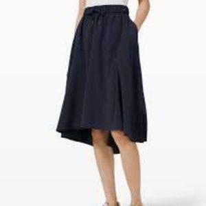 """Lululemon """"Time To Flounce"""" skirt"""